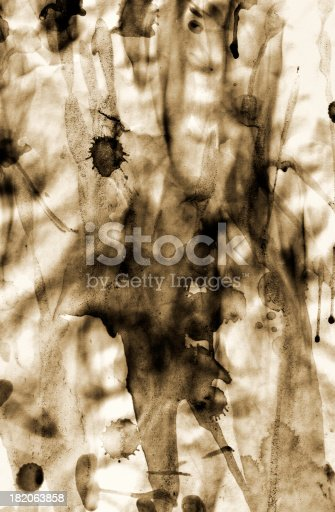 A grungy stained background / texture
