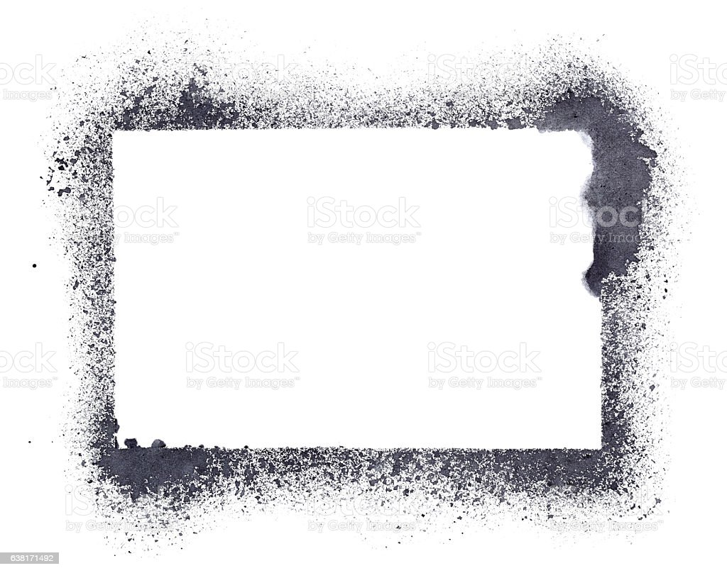 Grunge Stencil Frame Stock Photo & More Pictures of Abstract | iStock
