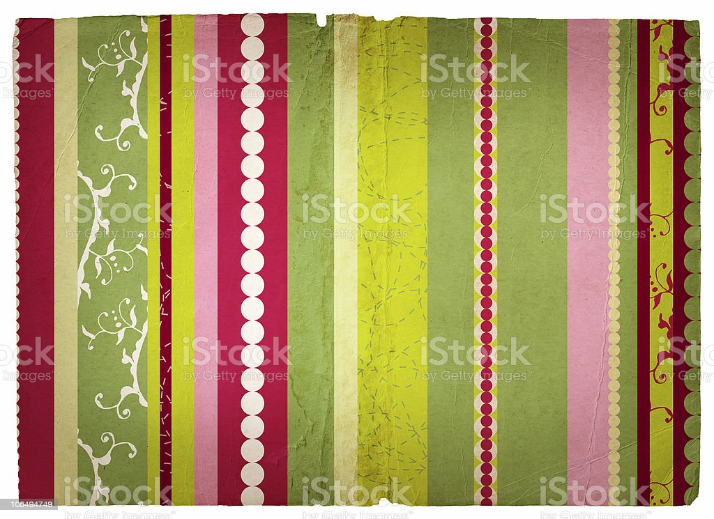 Grunge stripes page royalty-free stock photo