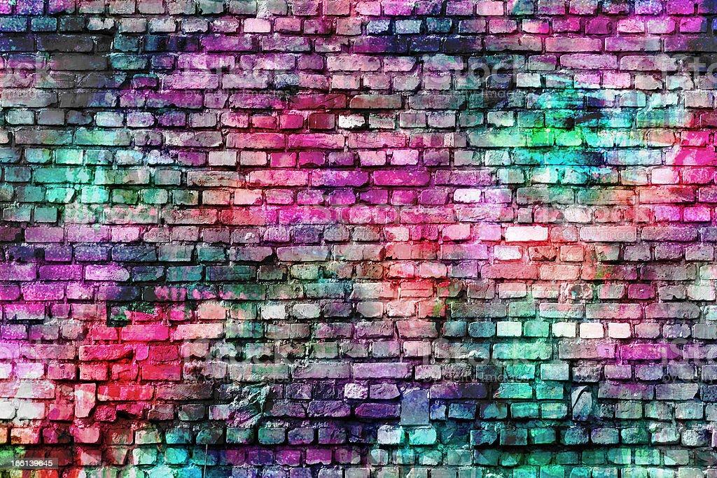 grunge style colorful background stock photo