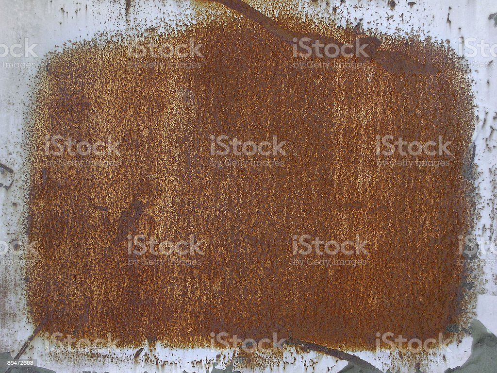 grunge style red rusty metal surface background royalty-free stock photo