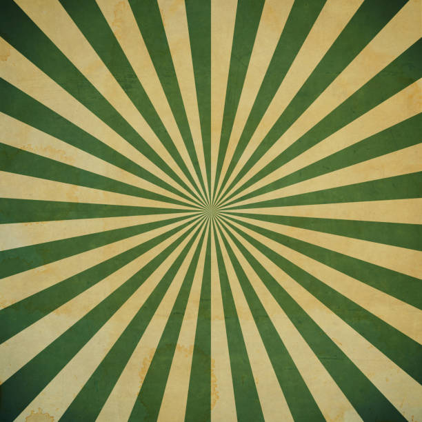 grunge sunburst vintage background and texture - circus background stock photos and pictures