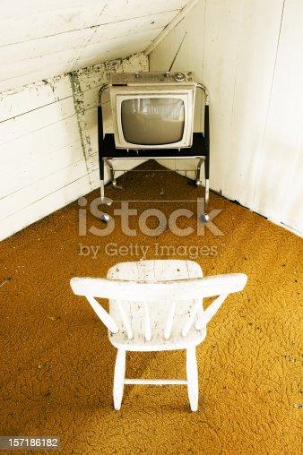 Watching a little retro grunge television.
