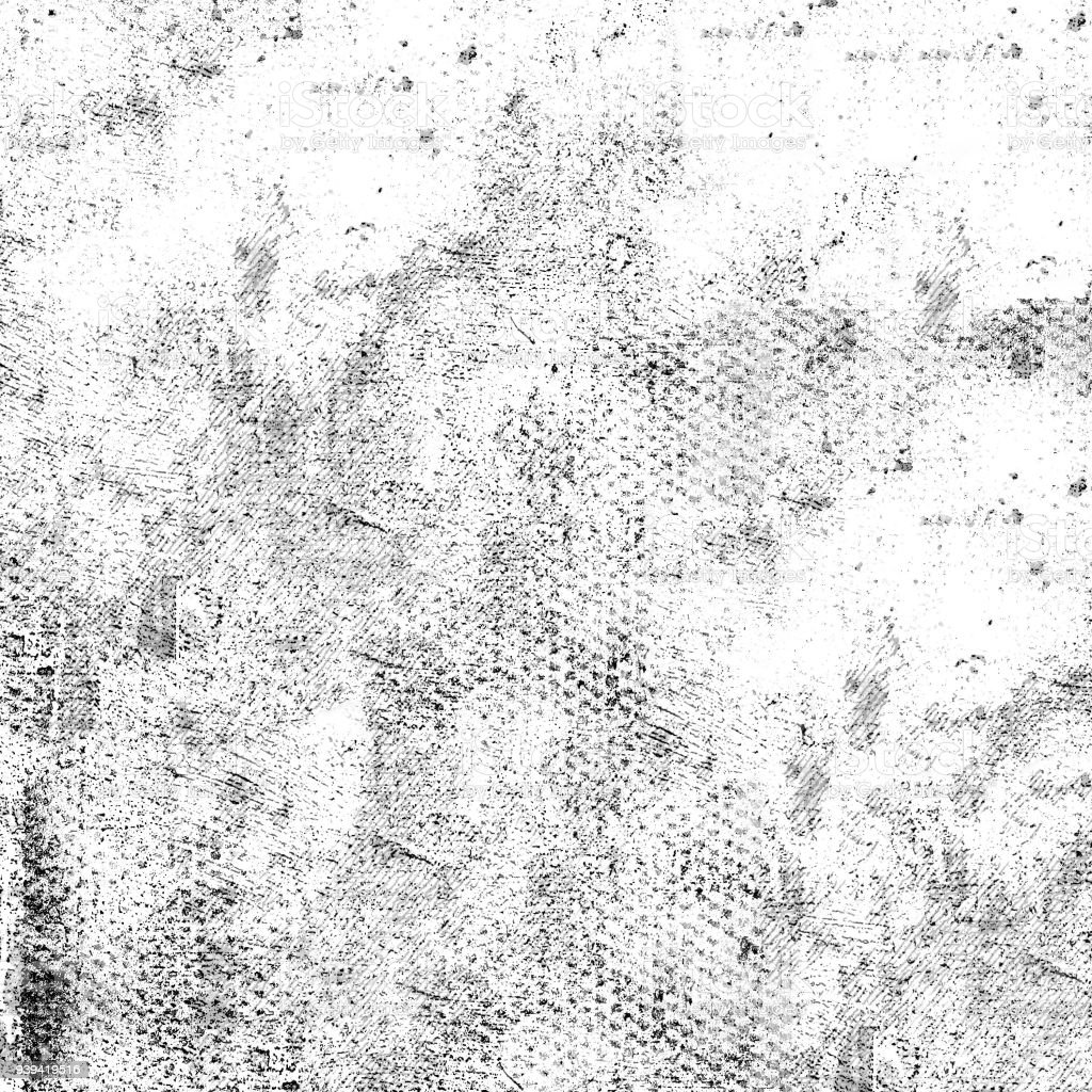 Grunge Texture Black And White Abstract Monochrome Stock