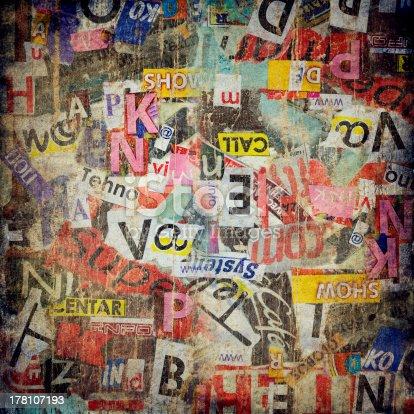 istock Grunge textured background 178107193