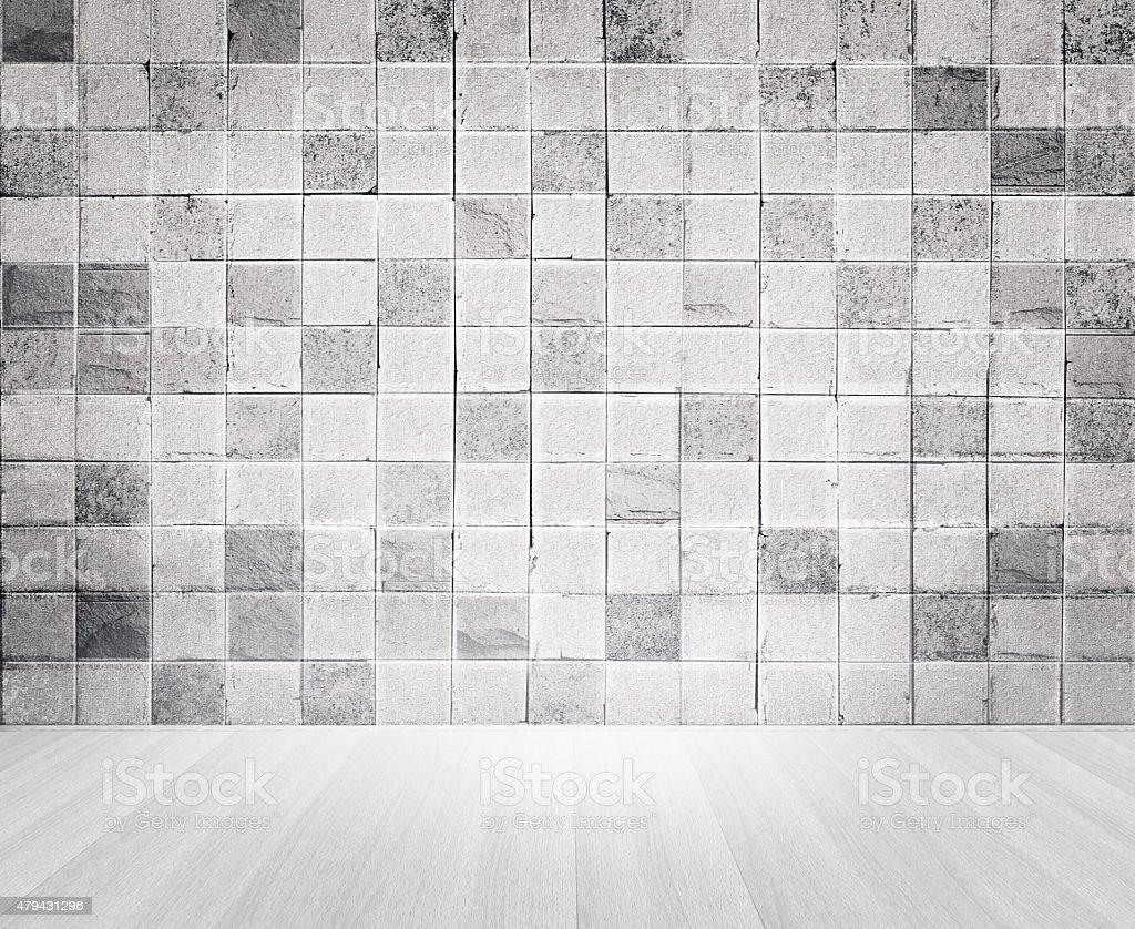 Cemento grunge stile vintage di piastrelle di mattoni e pavimento