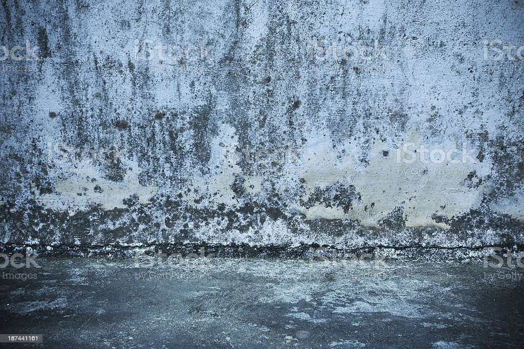Grunge wall and flooring background textured royalty-free stock photo