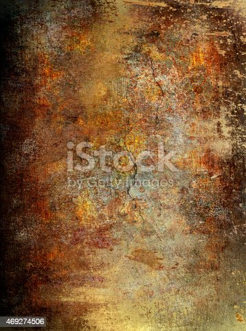 istock Grunge wall background 469274506