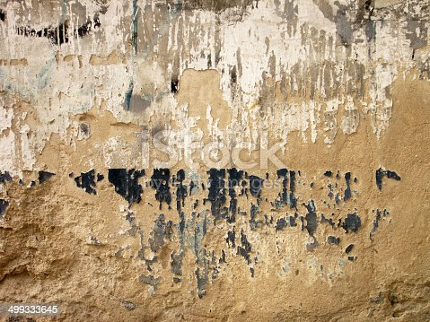 700531402 istock photo Grunge wall of the old house. Textured background 499333645