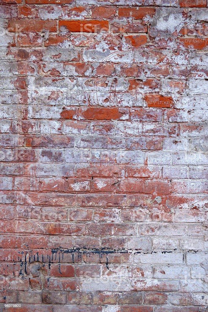 Grunge parete foto stock royalty-free