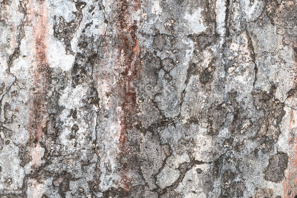 Grunge wall texture with rust and cracks. stock photo