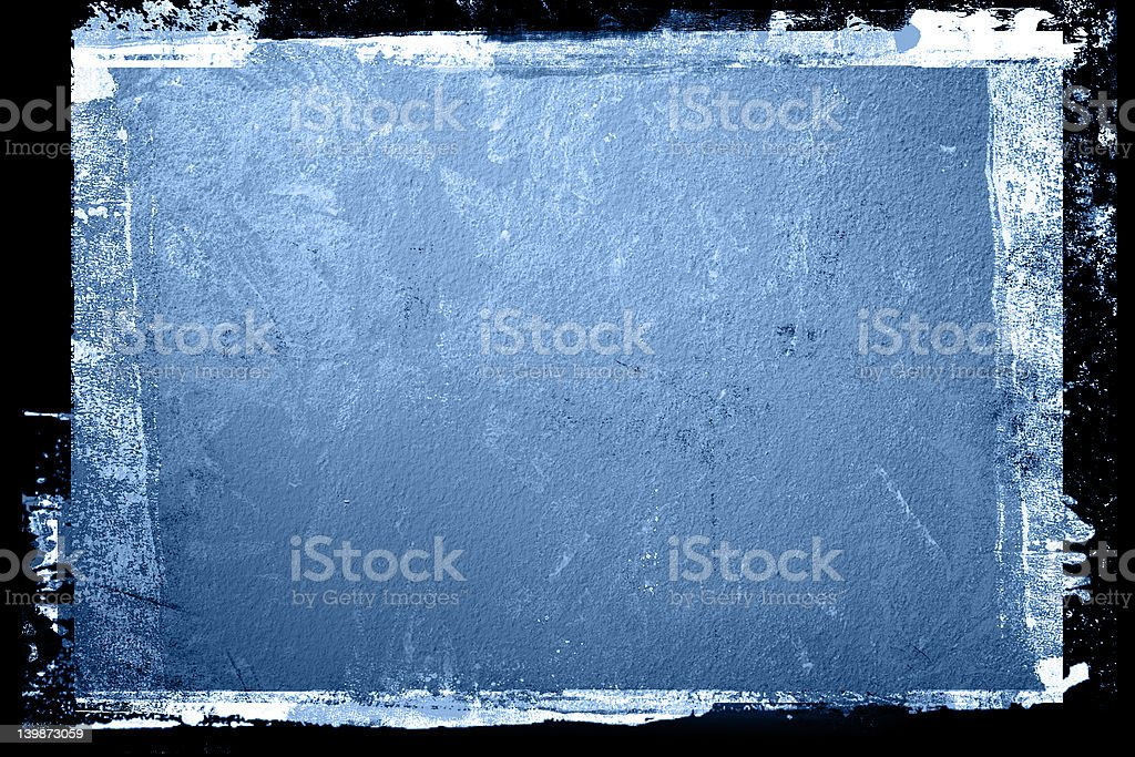 Grunge Wall Textured Background with border royalty-free stock photo