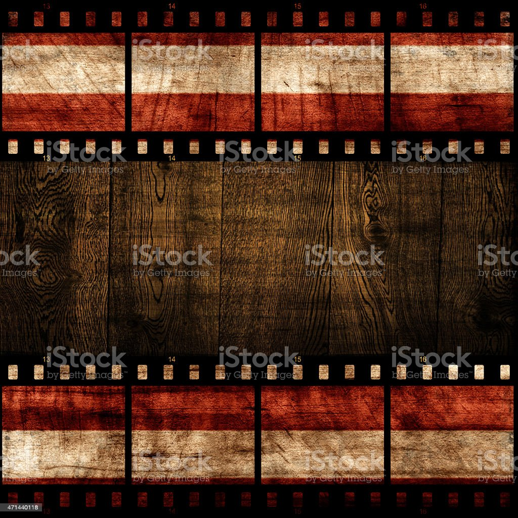 Grunge Wallpaper With Film Strip Stock Photo More Pictures Of 2015
