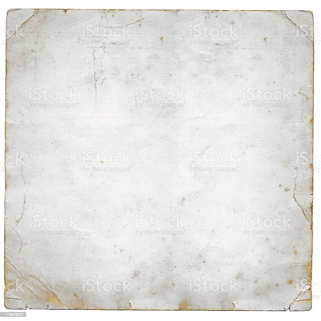 Grunge white paper stock photo