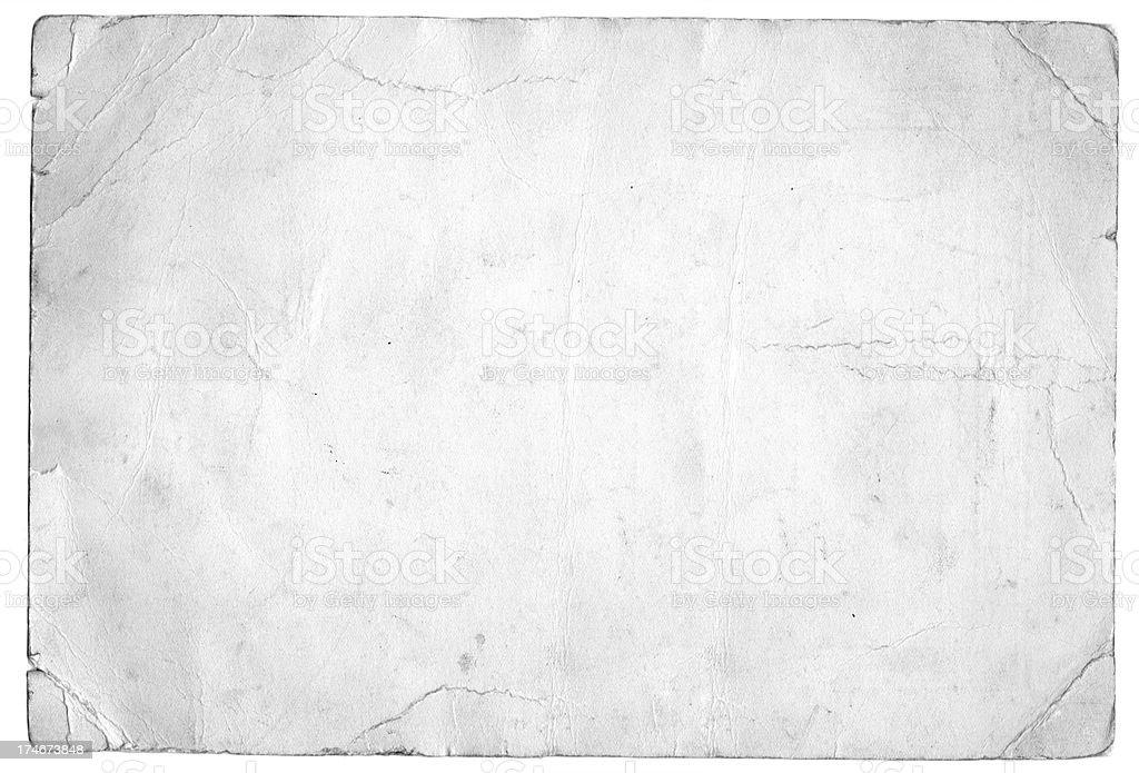Papier blanc Grunge - Photo de Affiche libre de droits