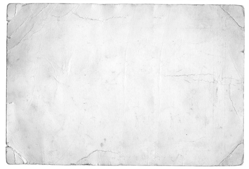 An old peice of white paper