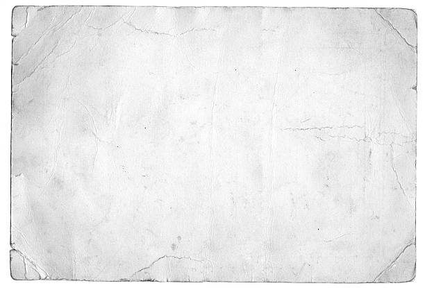 papier blanc grunge - en papier photos et images de collection