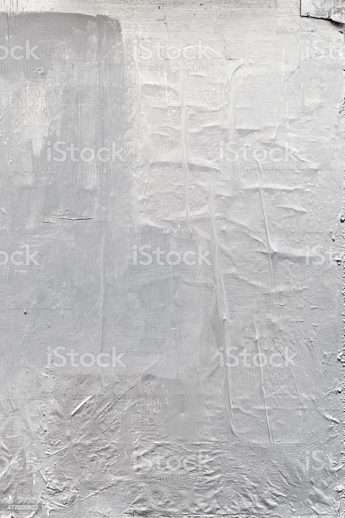 Grunge white paper textured background stock photo
