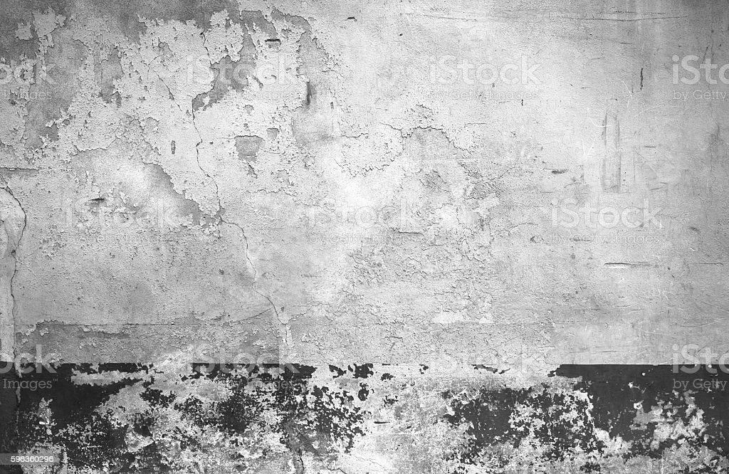 Grunge white wall royalty-free stock photo