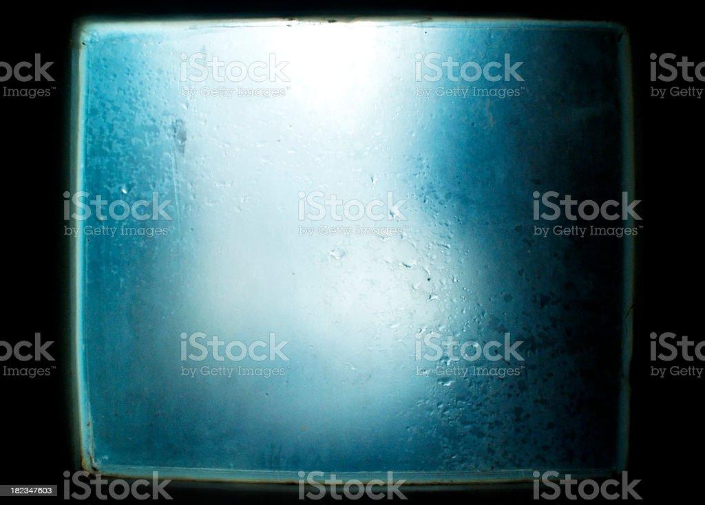 Grunge Window Pane stock photo