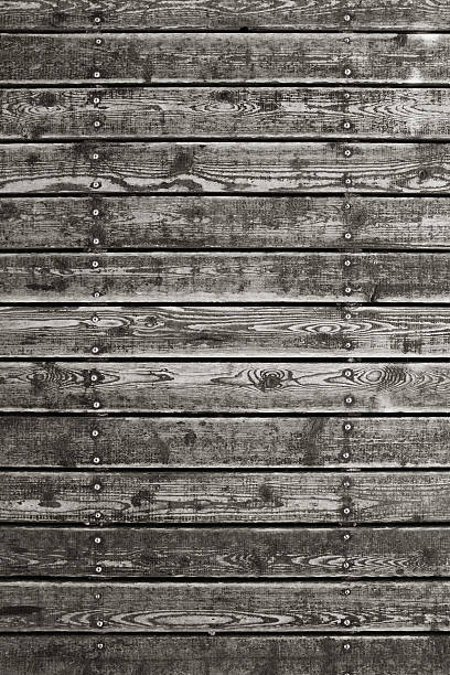 grunge wood panelling background textured - terrassen deck design stock-fotos und bilder
