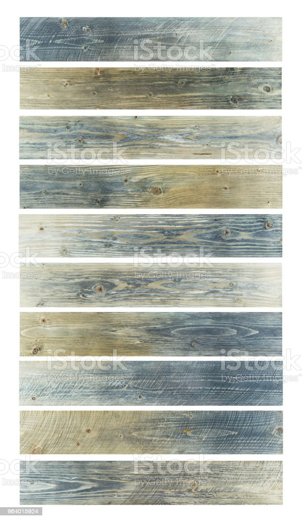Grunge wood table background. Sunface wooden plank texture isolated on white background. - Royalty-free Abstract Stock Photo