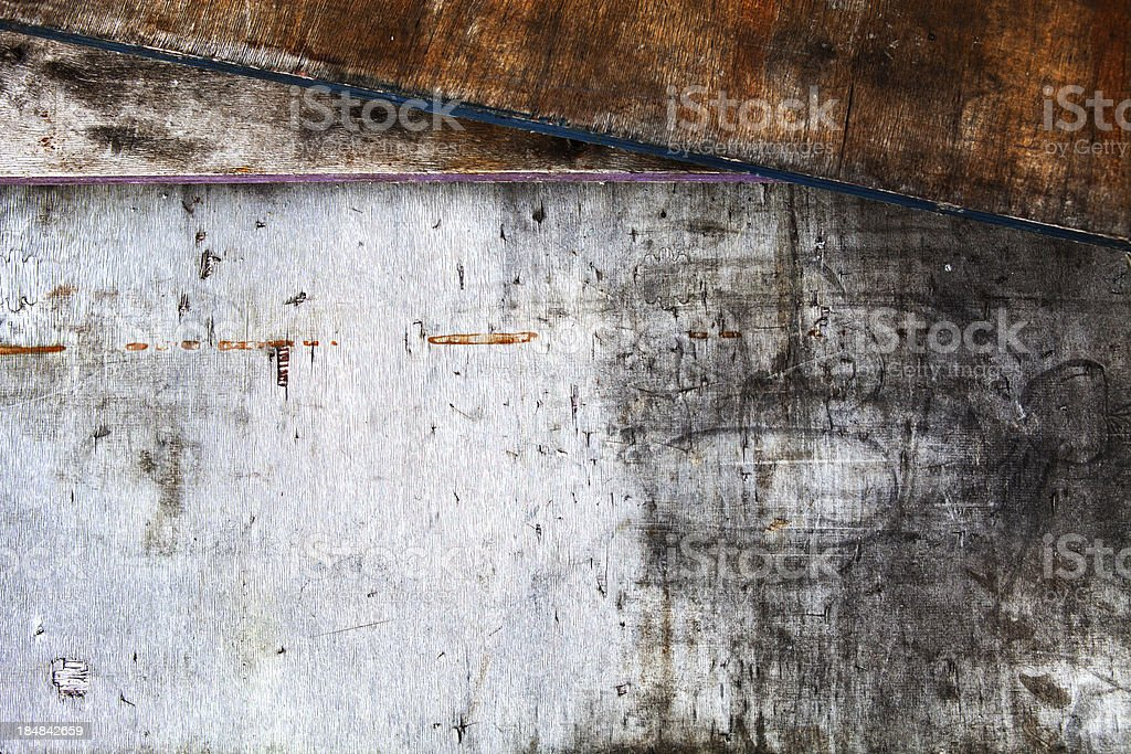 Grunge wooden texture stock photo