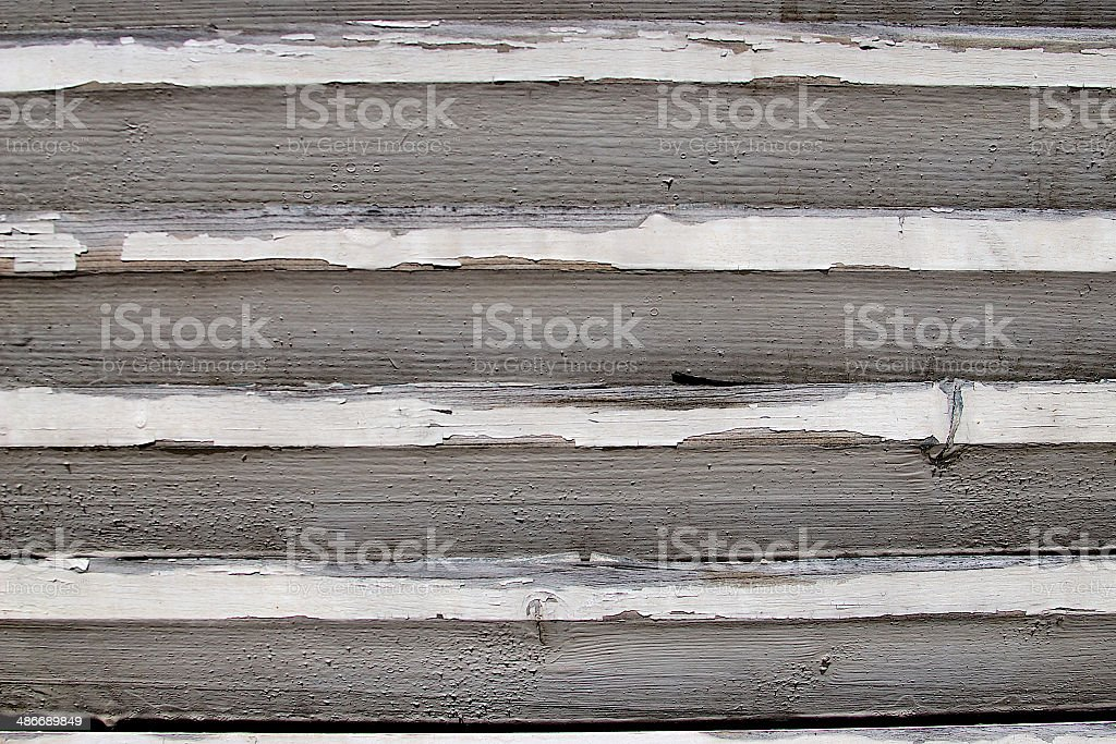 Grunge Worn Plank Wall royalty-free stock photo