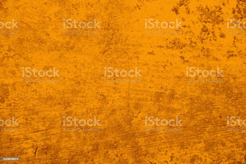 Grunge Yellow Wall Background stock photo
