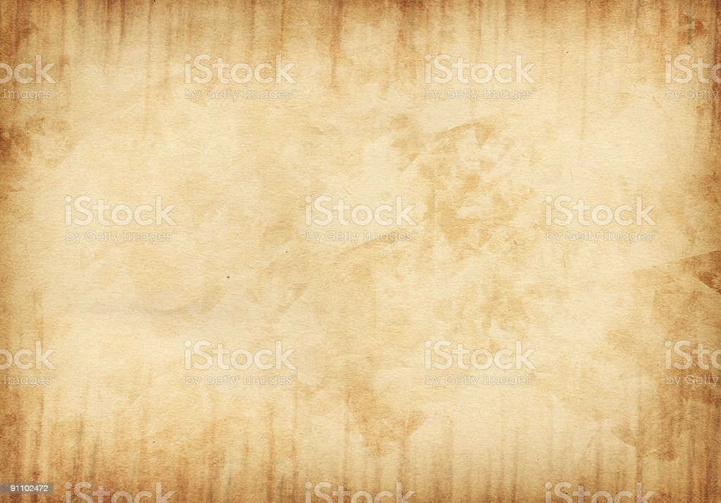 Grunged Paper Background stock photo