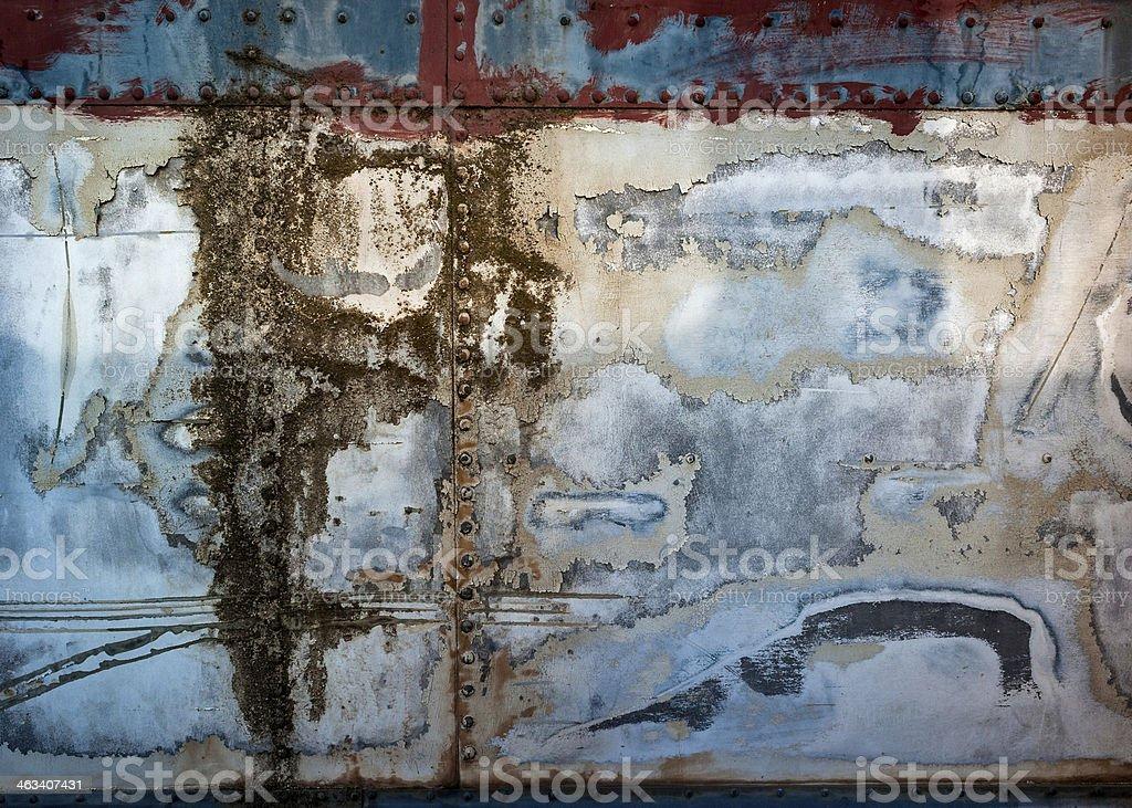 Grungey metal surface royalty-free stock photo