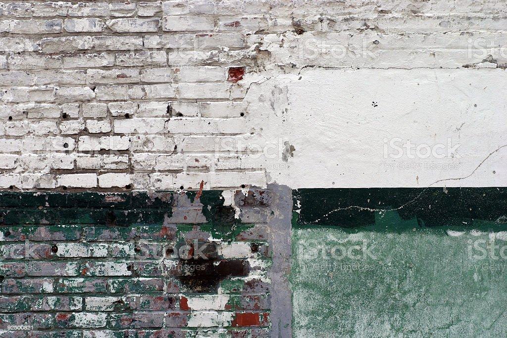 Grungey Wall royalty-free stock photo