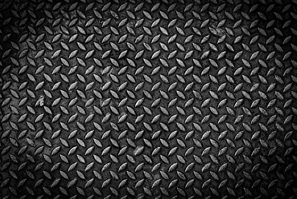 grungry Metall-Diamant-Platte – Foto