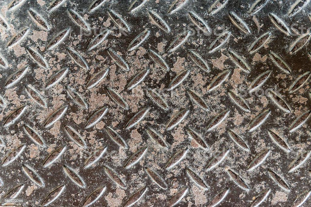 Grungy aluminium royalty-free stock photo
