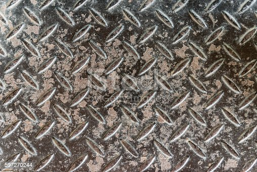 Grungy Aluminium Stock Photo & More Pictures of Abstract