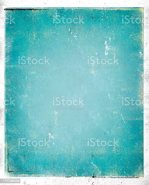 Photo of Grungy background in blue without anything on it