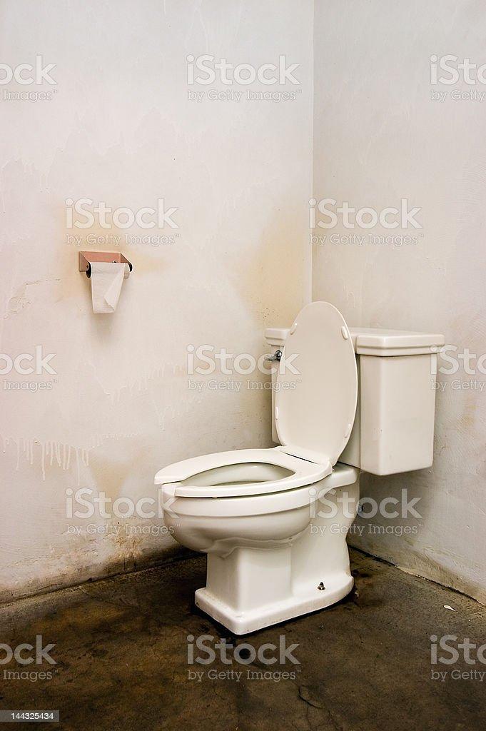 Grungy Bathroom stock photo
