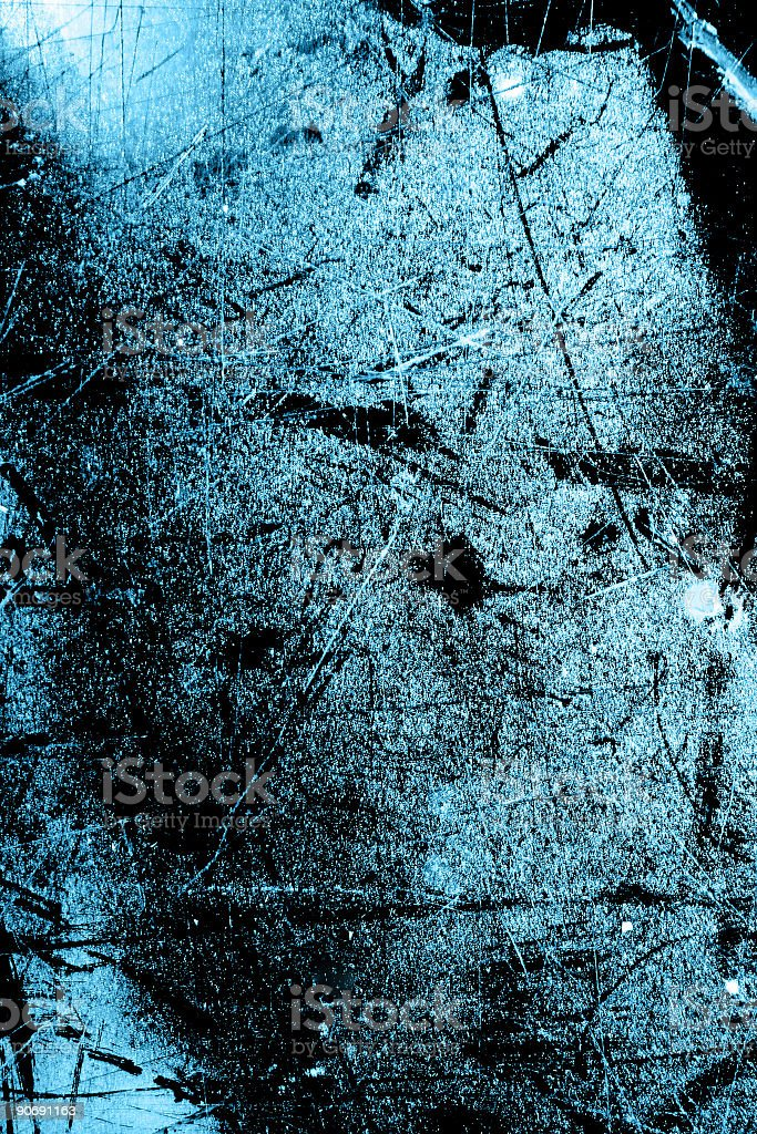 Grungy blue image royalty-free stock photo