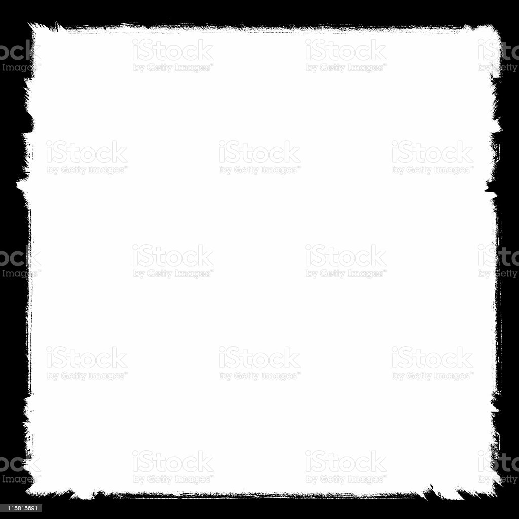 grungy border 02 royalty-free stock photo