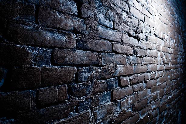 Grungy Brick Wall stock photo