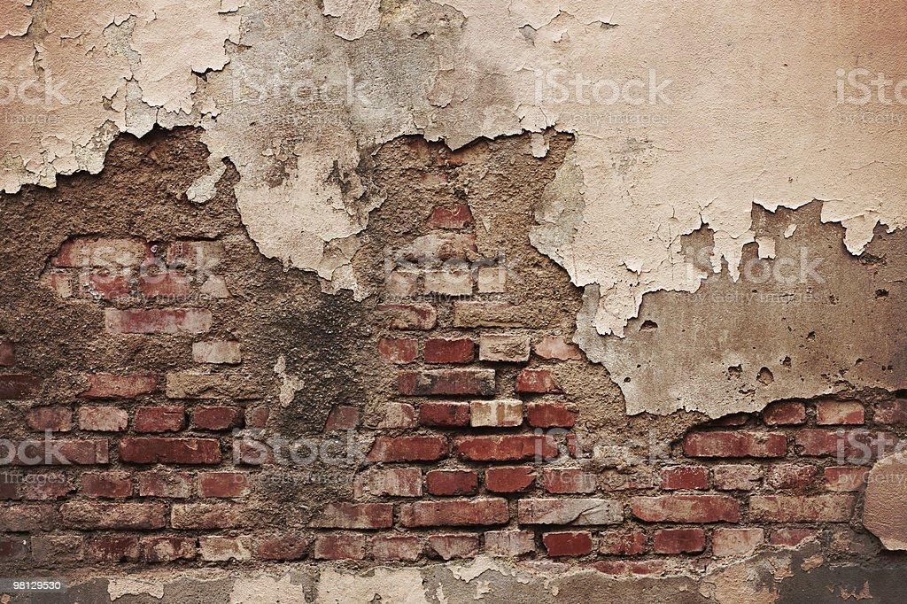Grungy Brick Wall (XXXL) royalty-free stock photo