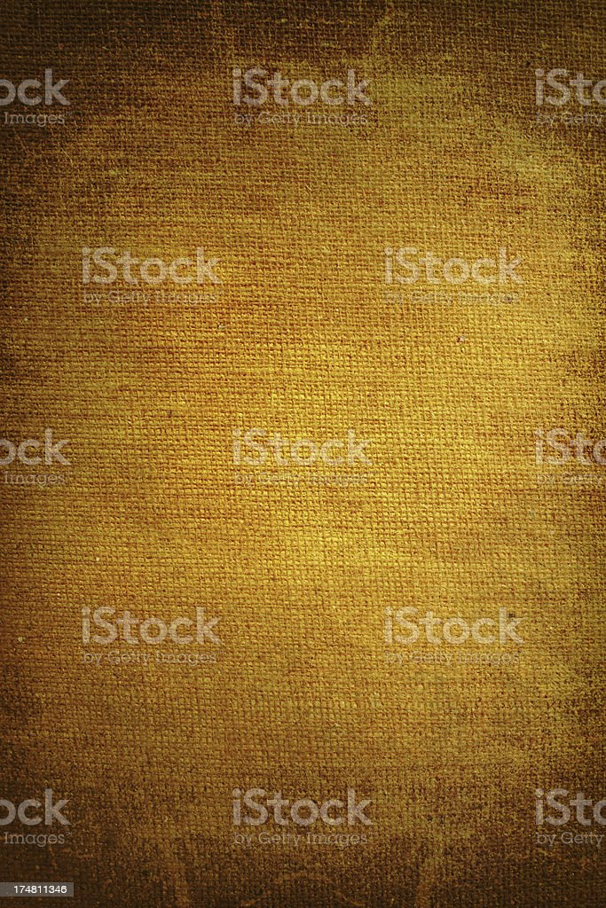 Grungy canvas texture royalty-free stock photo