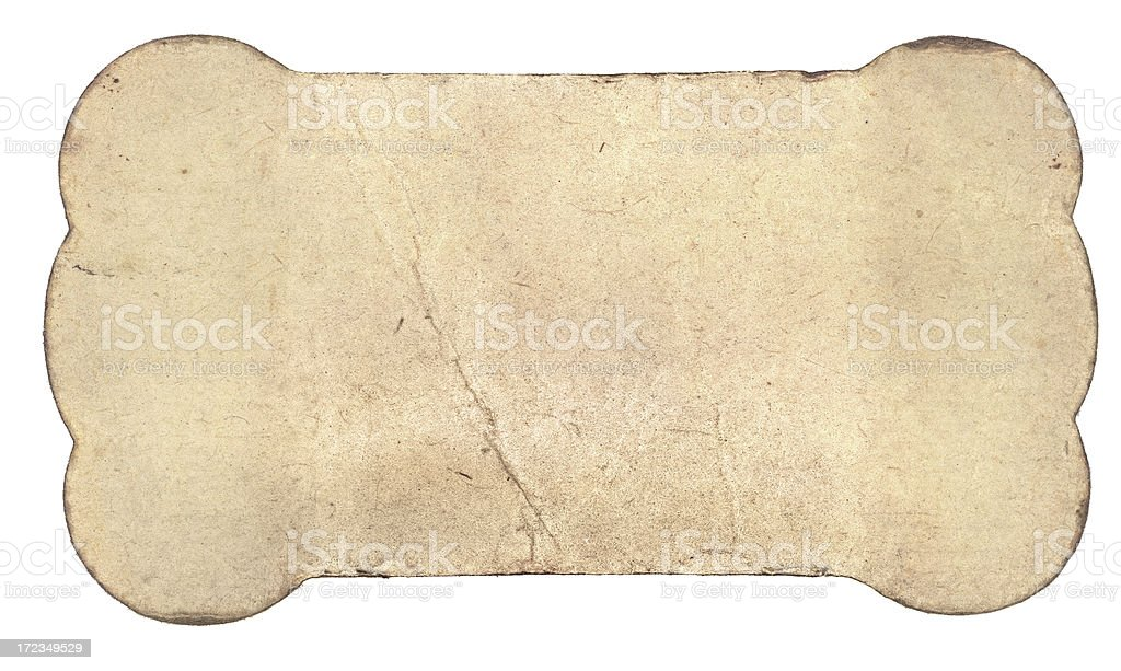 Grungy Card royalty-free stock photo
