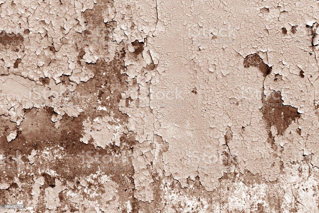 Grungy cement wall in brown tone. zbiór zdjęć royalty-free