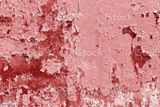 Grungy Ściany Cementu W Czerwonym Tonie - zdjęcia stockowe i więcej obrazów Antyczny