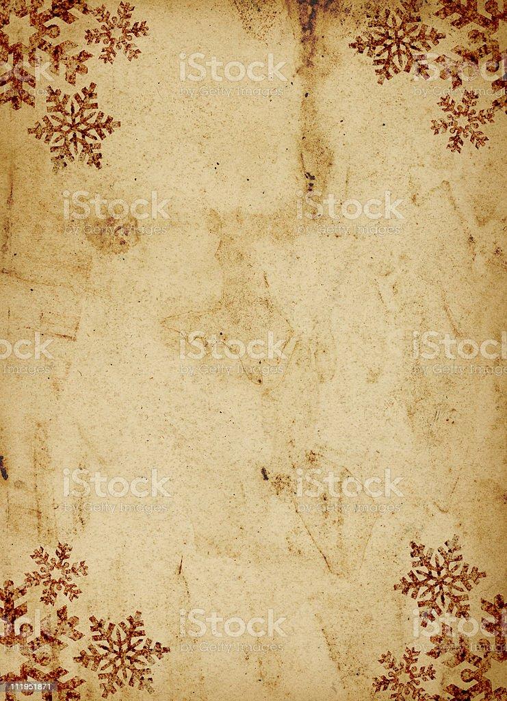 Grungy christmas background stock photo