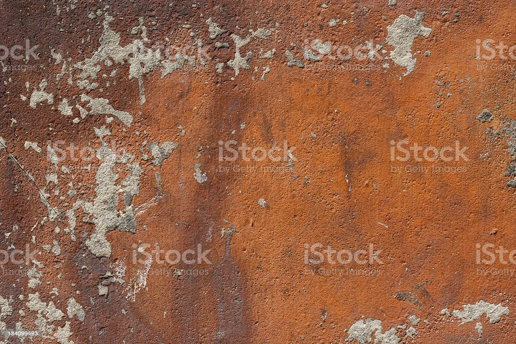 Grungy Colorful Dilapidated Concrete Wall royalty-free stock photo