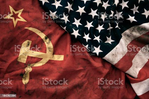 Grungy flags of soviet union and usa picture id184282094?b=1&k=6&m=184282094&s=612x612&h=89trtedu ov18ehc8gck9y95zi up kn9yjndazkl6s=