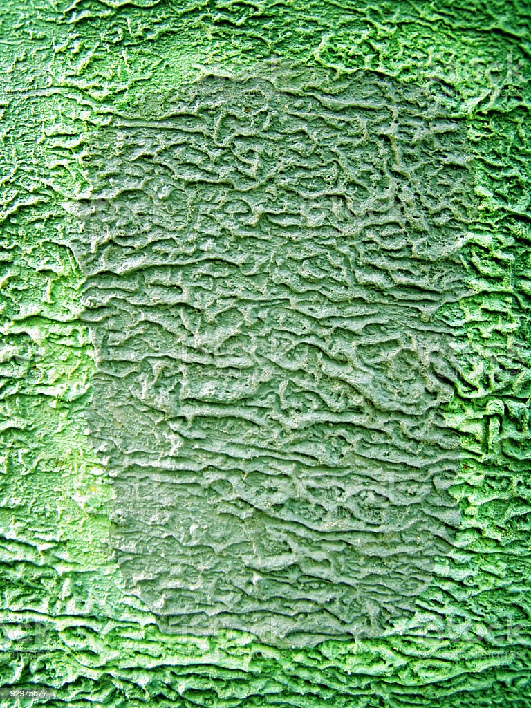 Grungy green framed texture royalty-free stock photo