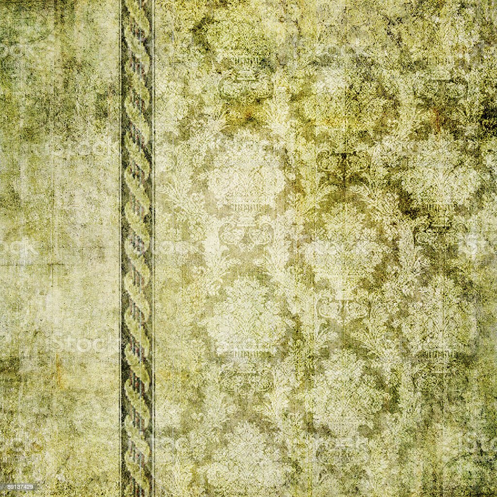 grungy green wallpaper stock photo
